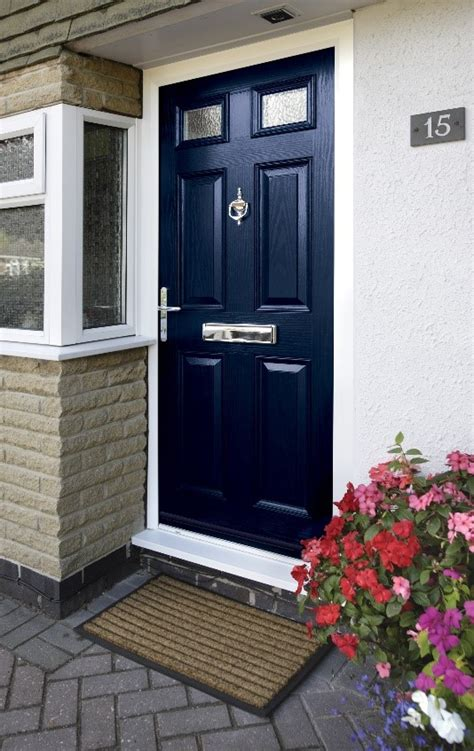 Coloured front doors - our top 10   Great Harwood Windows