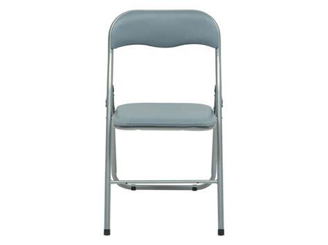 chaise de jardin conforama chaise pliante breva coloris gris vente de table et