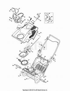 Troy Bilt 31as2t5f711 Squall 2100  2015  Parts Diagram For Shroud  Chute   U0026 Handle