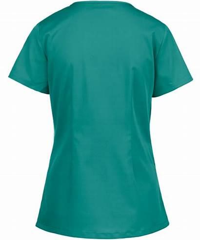 Scrubs Nurse Medical Asymmetrical Oem Neck Scrub