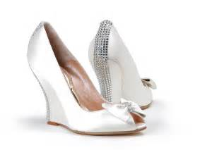 white wedding wedges shoes wedding wedges for brides wardrobelooks