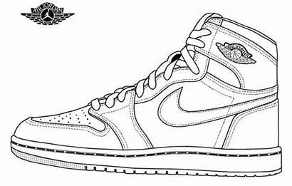 Jordan Nike Air Drawing Jordans Draw Retro