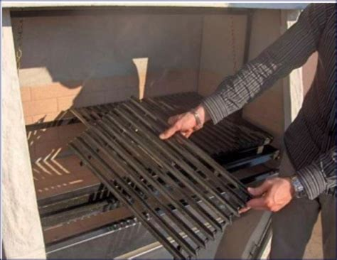grille de barbecue barbecues fixes argentins en pierres en briques ou en b 233 ton