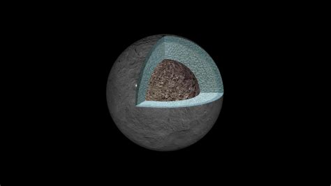 Dawn Glimpses Ceres' Internal Structure
