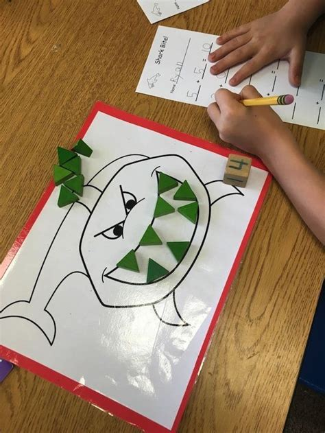 great activities  math stations give  students