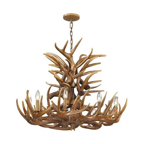 Brown Chandeliers by Y Decor Hercules 4 Light Brown Wood Globe Chandelier