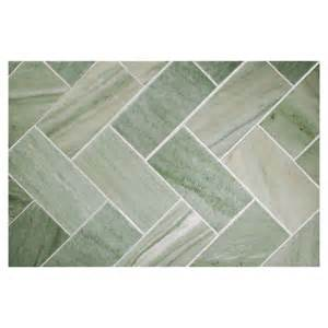 subway tile kitchen backsplash herringbone mosaic tile honed canopy green marble