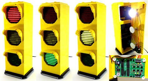 technic led light fully functional lego traffic signal l by vonbrunk on