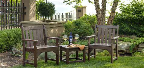 vineyard garden furniture  polywood vermont woods studios