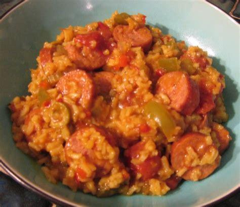 smoked sausage recipe easy smoked sausage creole recipe food com