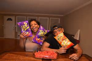 YouTube Hot Cheetos and Takis Challenge