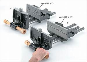 PDF DIY Quick Release Woodworking Bench Vice Download