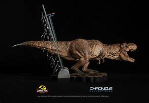 Jurassic Park T-Rex Breakout Diorama by Chronicle ...