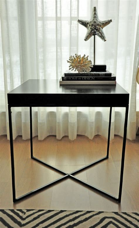 ikea lack side table hack twoinspiredesign