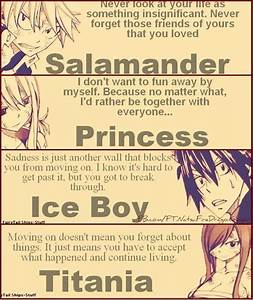 Gray Fairy Tail Quotes. QuotesGram