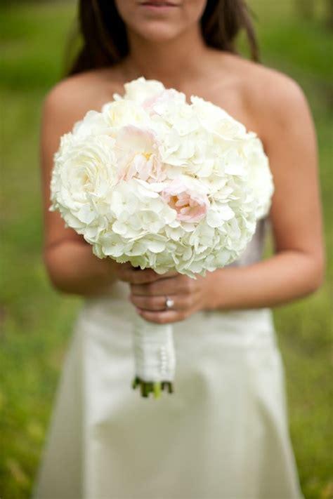 hydrangea and peony centerpieces bouquet wedding flower