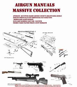 Airforce Airgun Air Rifle Gun Owners Manuals Exploded