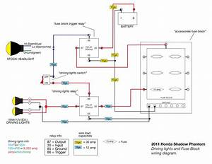 Wiring Diagram Honda Phantom