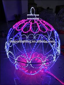 Christmas Large Outdoor Led Sphere Waterproof Ball Light