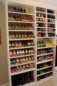 shoe organizers for closets Spectacular Shoe Storage - Contemporary - Closet - DC Metro - by Tailored Living featuring ...