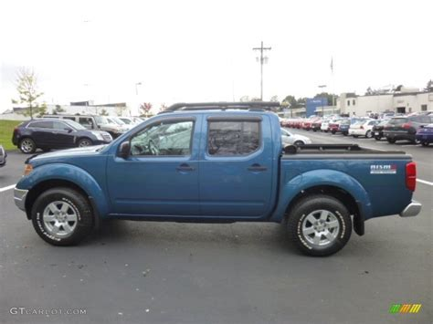 2005 Nissan Frontier Crew Cab by Electric Blue Metallic 2005 Nissan Frontier Nismo Crew Cab