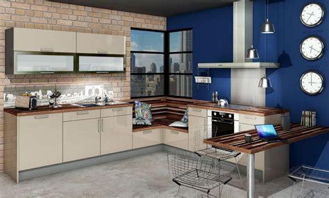 cuisine mur bleu cuisine vitamin 233 e glossy glam beige bleu 2v id 233 e de