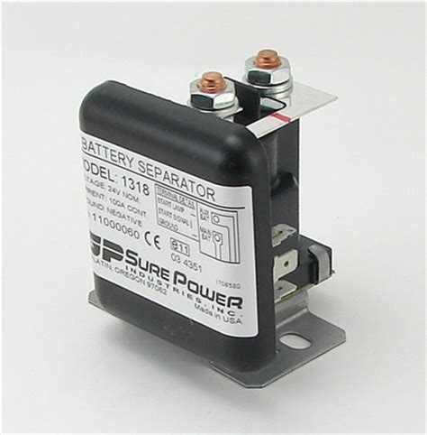 sure power 1319 battery separator 24 volt