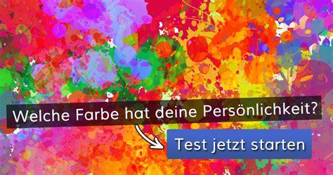 welche farbe hat deine persoenlichkeit