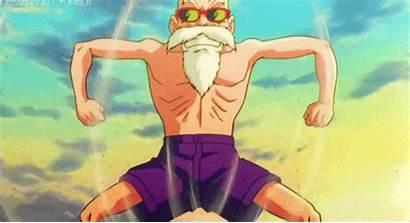 Roshi Anime Muscles Dragon Thieves Ball Gifs