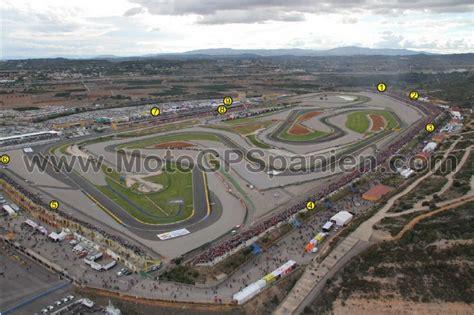 Rennstrecke Cheste - Valencia - MotoGP Spanien