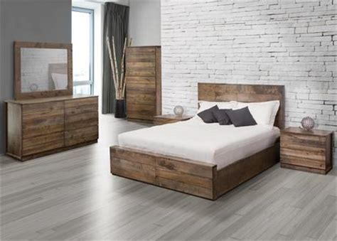 set de chambre bois massif jc perreault chambre contemporaine durham mobilier