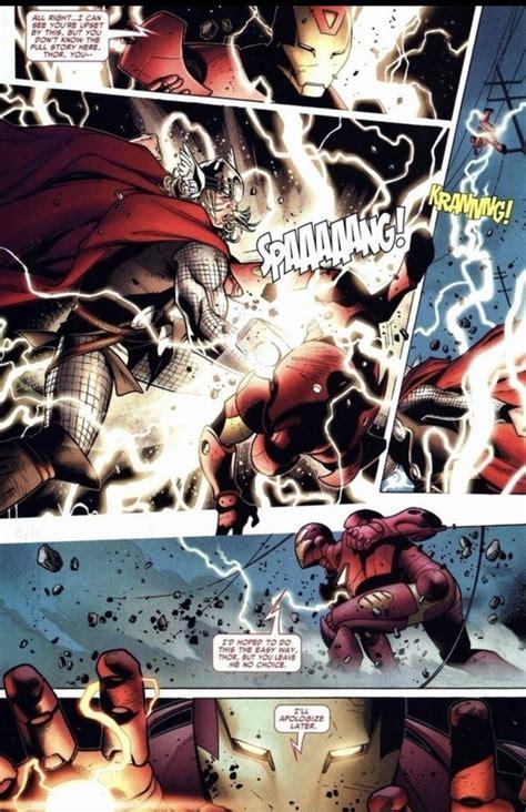 win   fight  thor  iron man quora