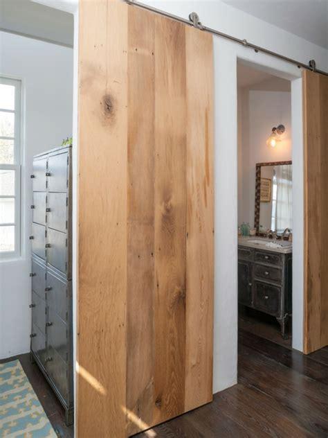 separation de chambre la porte coulissante pour la salle de bain