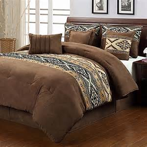 buy santa fe 7 piece queen comforter set from bed bath beyond