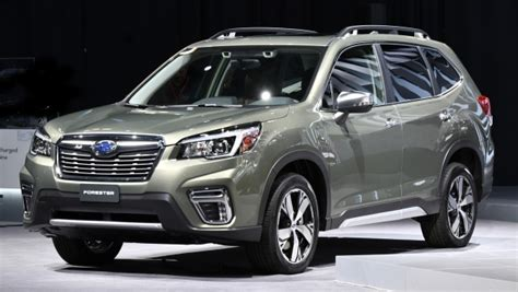 2019 Subaru Forester Unveiled  More Space, More