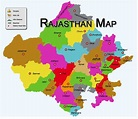 True Colors of India: Rajasthan Map - Rajasthan Tourism Map