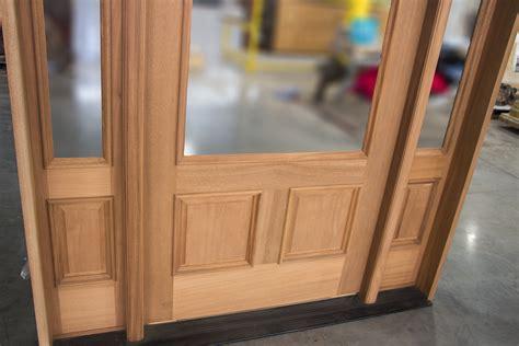 custom exterior doors  sidelights