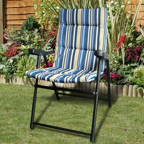 inspirations  padded outdoor folding chairs