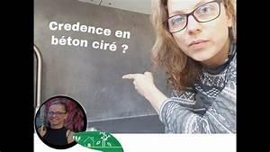 Crédence Béton Ciré : la credence de cuisine en b ton cir retour d 39 exp rience youtube ~ Mglfilm.com Idées de Décoration