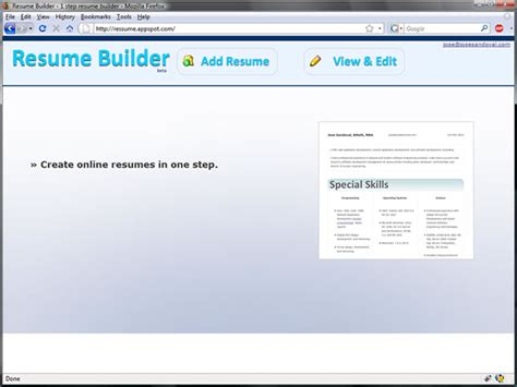 Resume Builder Application Project In Java by Resume Format Resume Builder Java Code