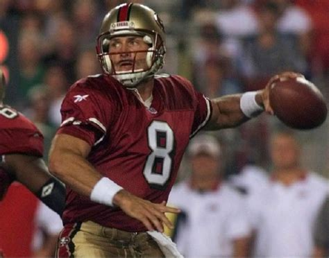 steve young monson football utah player byu state action 49ers quarterback greatest come ever 1998 francisco san