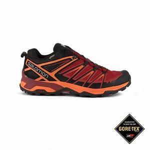 Salomon Zapatilla trailrunning X Ultra 3 GTX Rojo Naranja Goretex Hombre