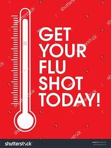 Vector Get Your Flu Shot Poster Stock Vector 337967972 ...