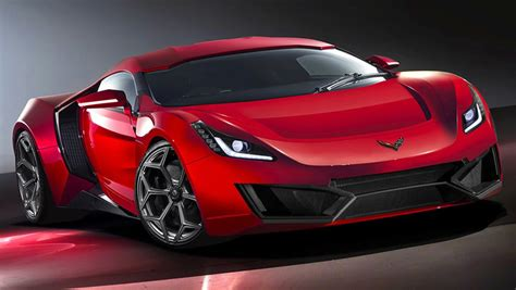 2020 Corvette Mid-Engine Prototype Tries to Evade a ...