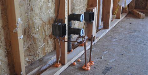 wall sensor measures moisture in a stud wall zero energy project