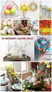 10 Pinterest Easter Ideas Holidays Bright Bold and