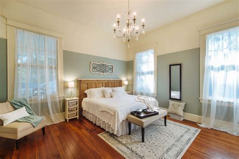 Master Bedroom Phantom Screens Southern Romance Idea Home