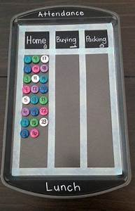 Free Printable Attendance Chart Easy Diy Attendance And Lunch Choice Chart Made With A