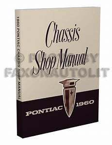 1960 Pontiac Repair Shop Manual Reprint