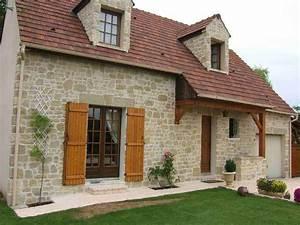 Pierre Facade Exterieur : 66 best images about parement on pinterest fitted kitchens construction and ps ~ Dallasstarsshop.com Idées de Décoration